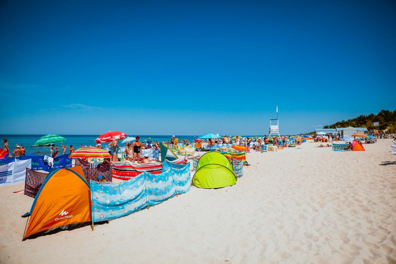 Zdjęcie główne #72 - Plaża – idealne miejsce do relaksu i... pracy